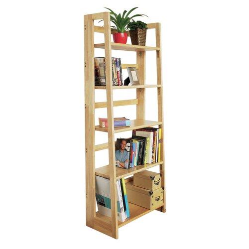 All Home 5 Shelf Folding Accent Shelf Reviews Wayfair Uk