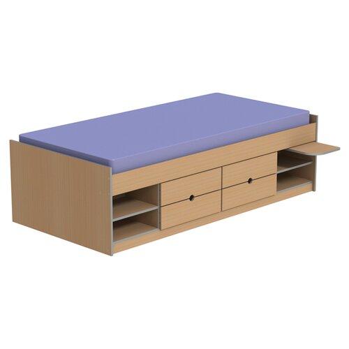 Homestead Living Teen Functional Cabin Single Bed Frame
