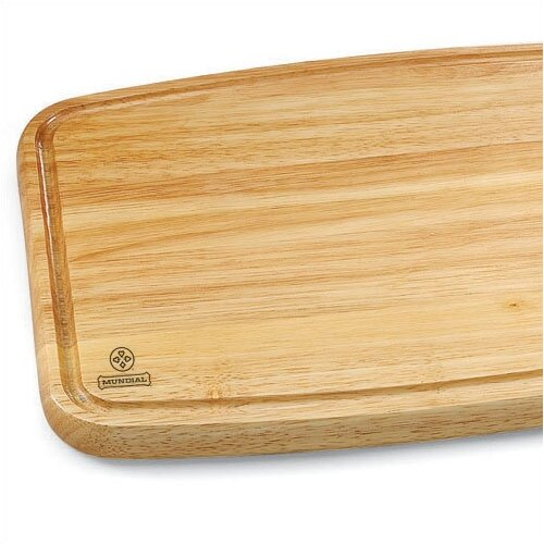 Mundial Large Solid Wood Cutting Board