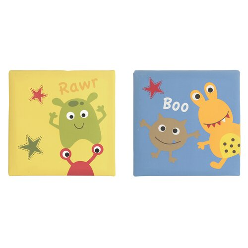 Banana Fish Baby Monster 2 Piece Wall Art