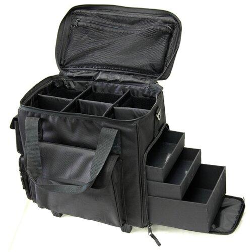 TZ Case Soft Shell Beauty Case with Wheels