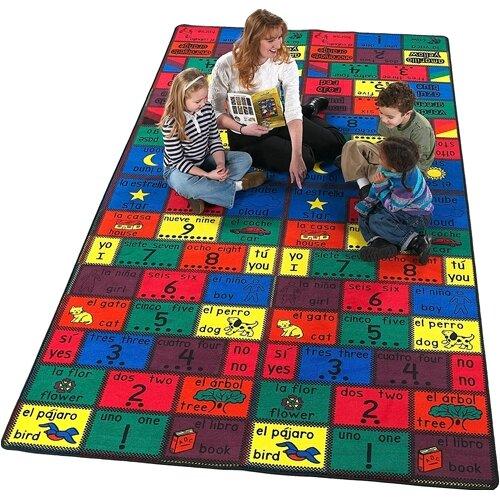 Flagship Carpets Educational Amigos Kids Rug