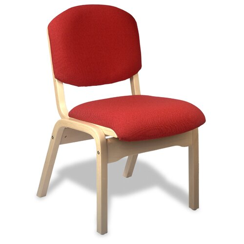 "Holsag Campus Custom 18"" Beechwood Classroom Side Chair"