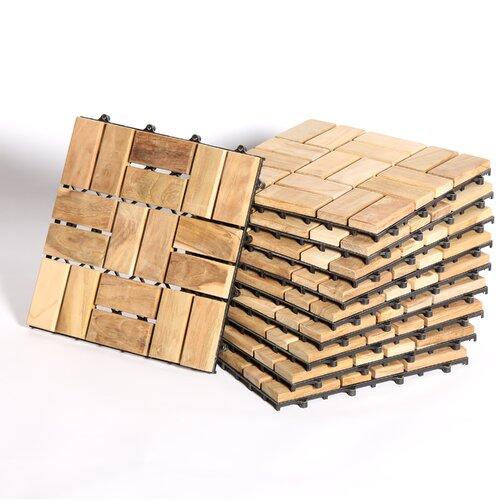 Teak Patio Flooring Squares Bing Images