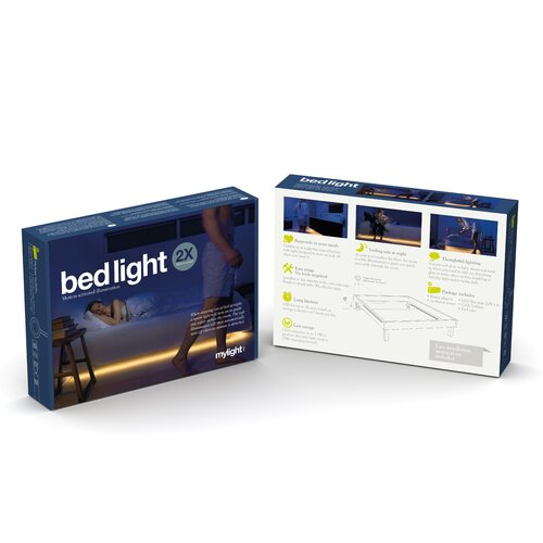 Mylight.Me LED Ambient Bedlight Kit (Pack of 2)