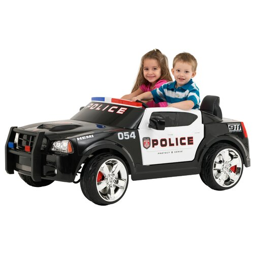 Kid Trax 12V Battery Powered Police Car