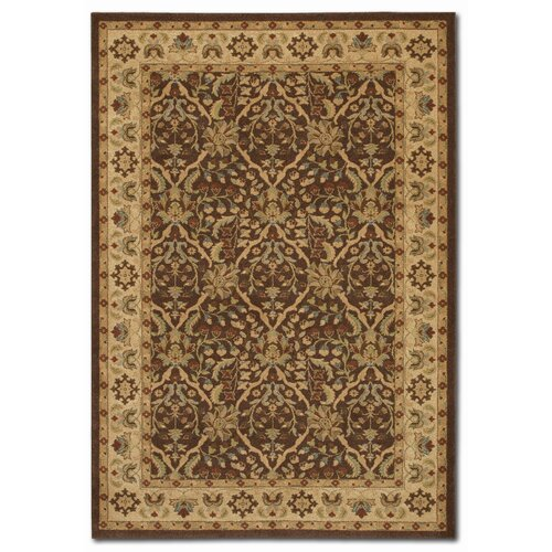 Couristan Pera Birjand Chocolate/Latte Rug