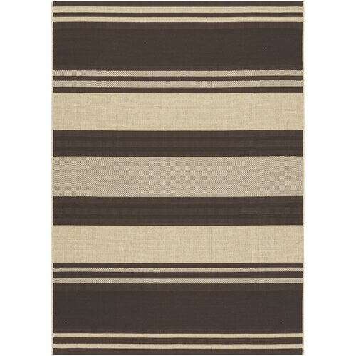 Couristan Five Seasons South Padre Chocolate Indoor/Outdoor Rug
