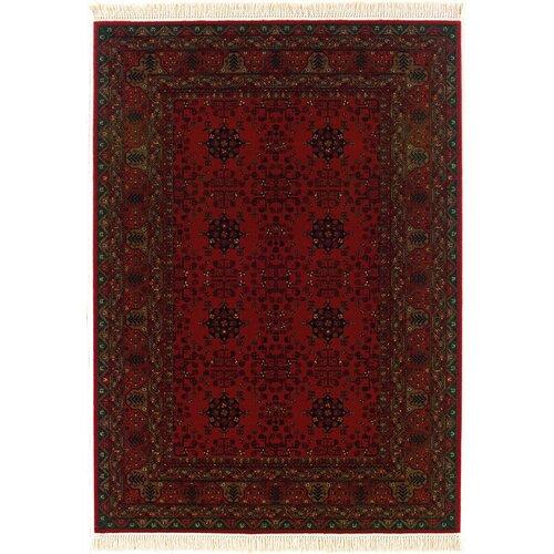 Couristan Kashimar Afghan Nomad Red Rug