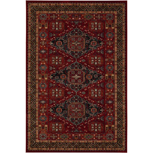 Couristan Old Word Classics Kashkai Burgundy Rug