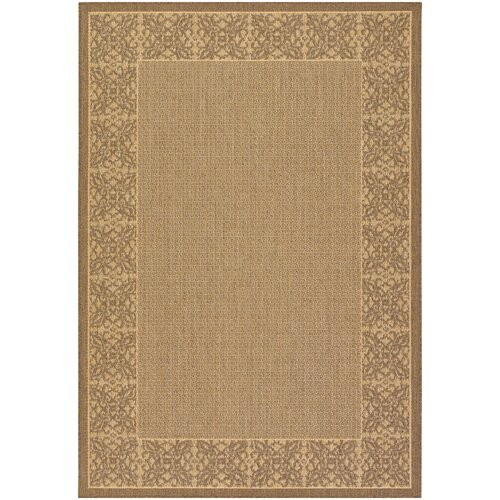 Couristan Recife Summer Chimes NaturalCocoa Indoor/Outdoor Rug