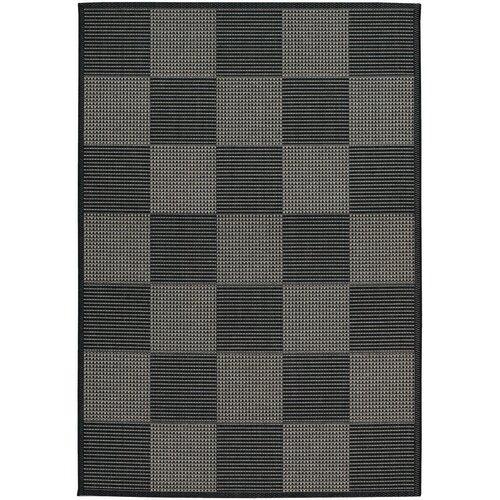 Tides Concord Black/Grey Indoor/Outdoor Rug