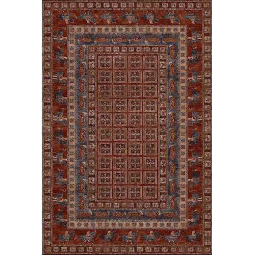 Couristan Old World Classics Antique Red Pazyrk Rug