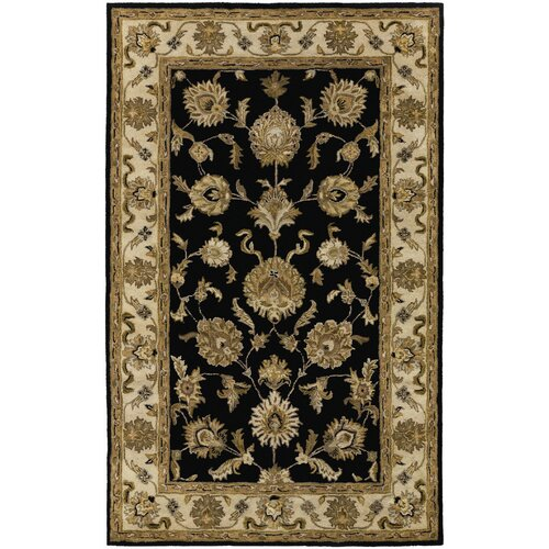 Couristan Castello Black Tudor Rug
