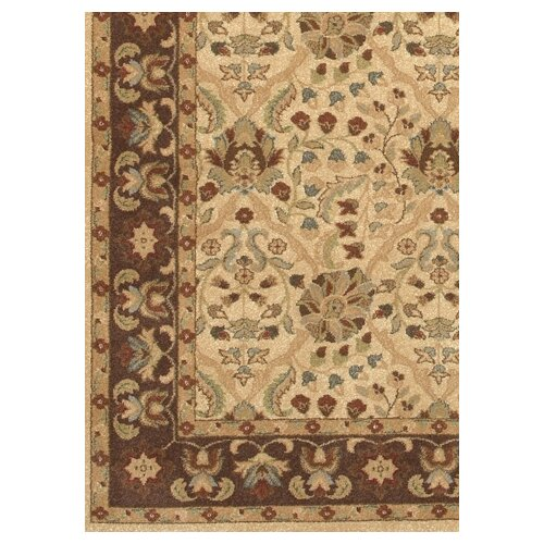 Couristan Pera Birjand Latte/Chocolate Rug