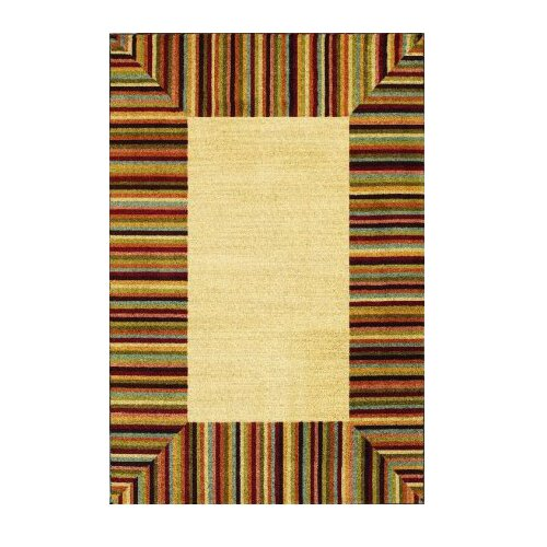 Shaw Rugs Modern Elements Ashbury Ivory Multi Rug