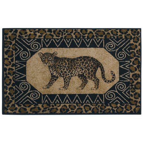 Shaw Rugs Reflections Leopard Novelty Rug
