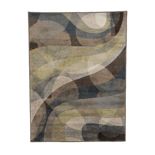 shaw rugs tranquility hula blue multi rug
