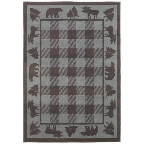 Shaw Rugs Woodlands Vintage Grey/Blue Rug