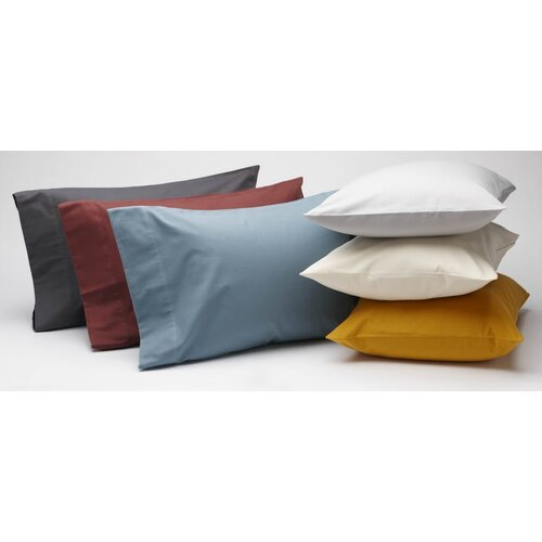 Coyuchi Cloud Brushed Flannel Pillowcase