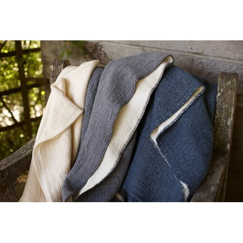 Coyuchi Cozy Cotton Blanket