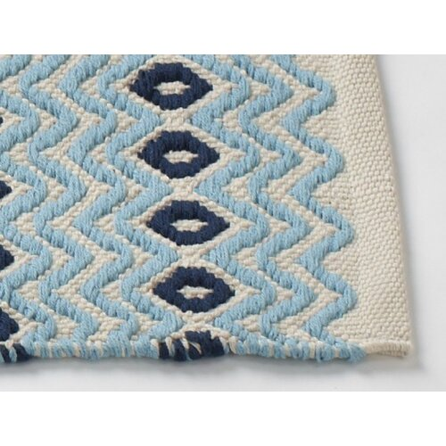 Coyuchi Wave Bath Rug