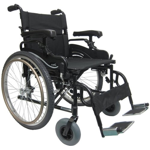 "Karman Healthcare 20"" Aluminum High Strength Bariatric Wheelchair"