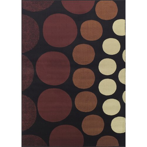 Dalyn Rug Co. Carlisle Black Circle Rug