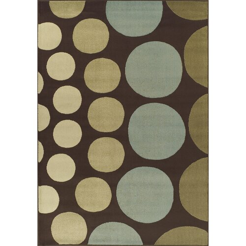 Carlisle Chocolate Circle Rug