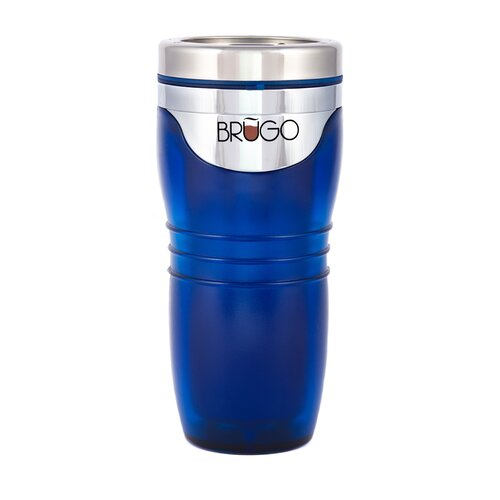 Brugo Leak Proof Thermodynamic Travel Mug in Jazz Cobalt
