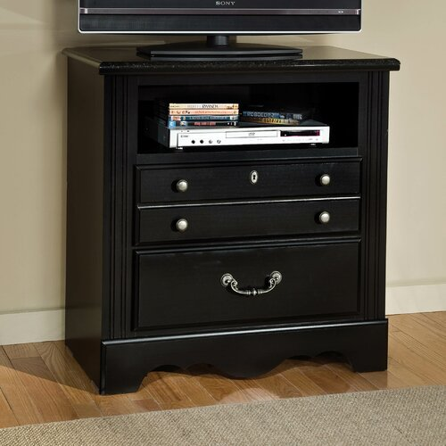 Standard Furniture Madera with Marbella Top 3 Drawer TV Chest