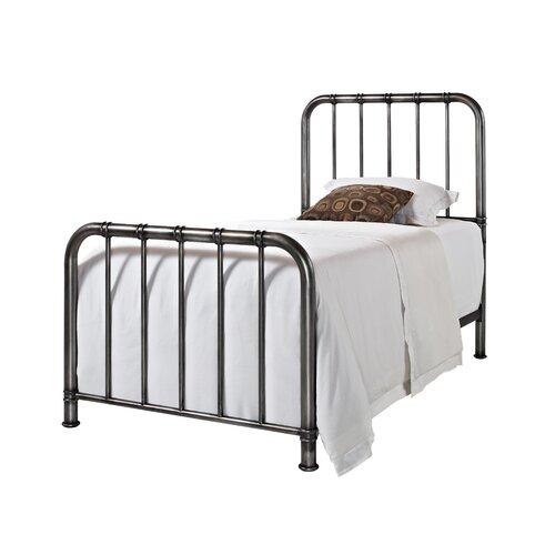 standard furniture tristen metal bed reviews wayfair