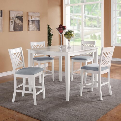 Brooklyn 5 Piece Dining Table Set