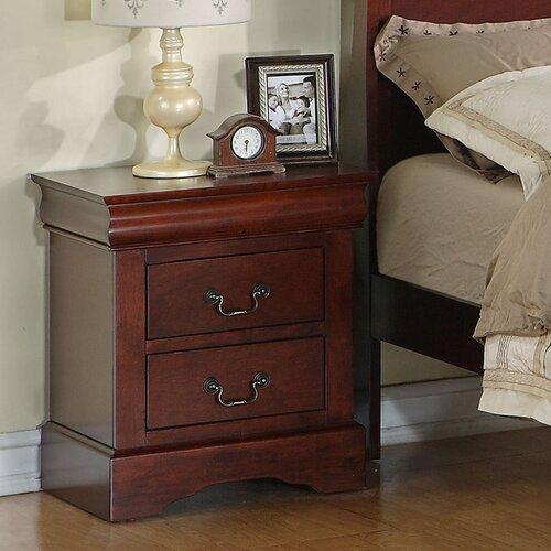 Standard Furniture Lewiston Standard 2 Drawer Nightstand