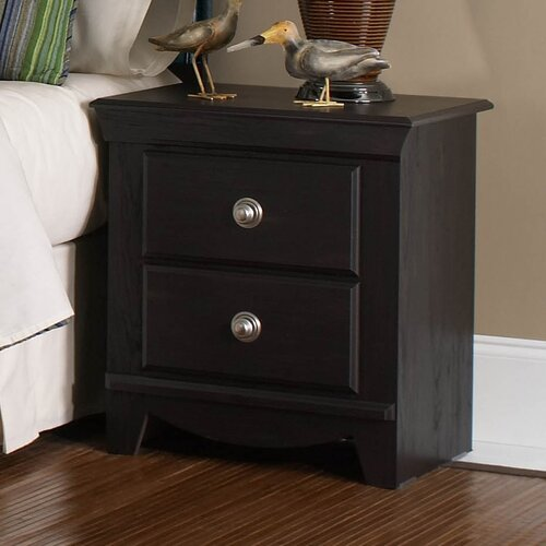 Carlsbad 2 Drawer Nightstand