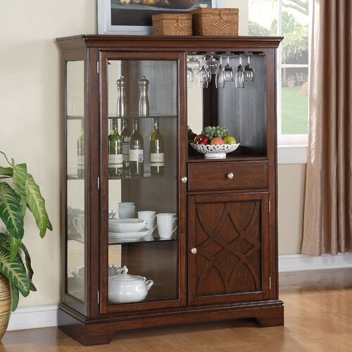 Standard Furniture Woodmont Curio Cabinet & Reviews