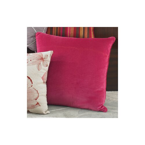 Wildcat Territory Narcissus Solid Velvet Decorative Pillow