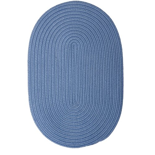 Boca Raton Blue Ice Outdoor Rug