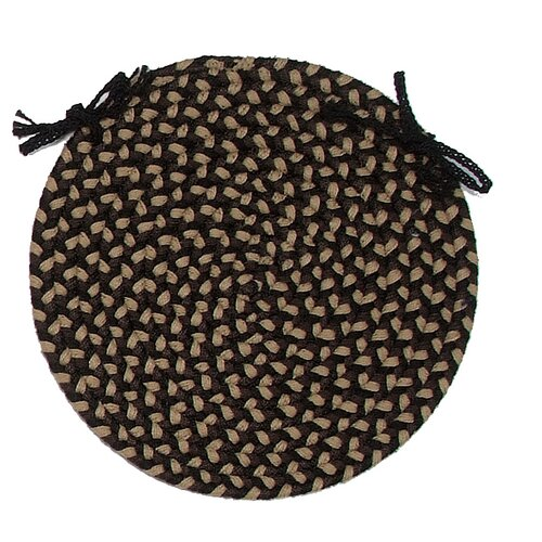 Brook Farm Round Braided Chair Pad