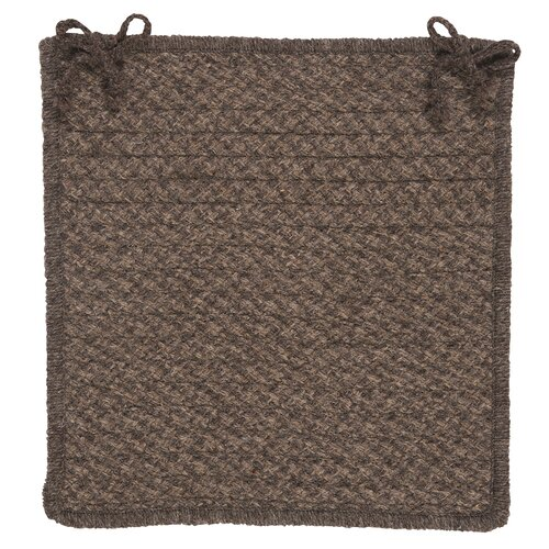 Colonial Mills Natural Wool Houndstooth Chair Pad (Set of 4)
