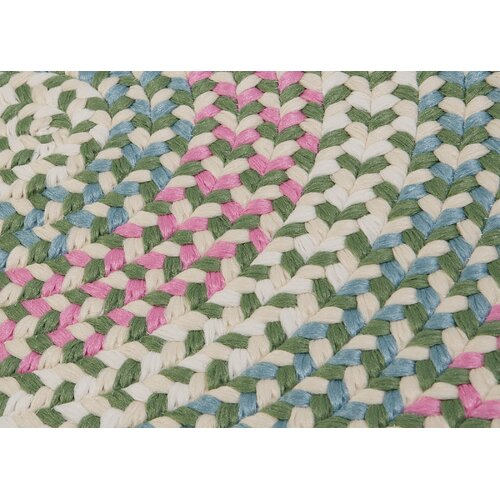 Colonial Mills Carousel Bubble Green Rug
