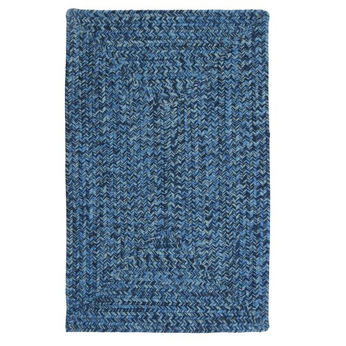 Colonial Mills Catalina Blue Wave Indoor Outdoor Area Rug
