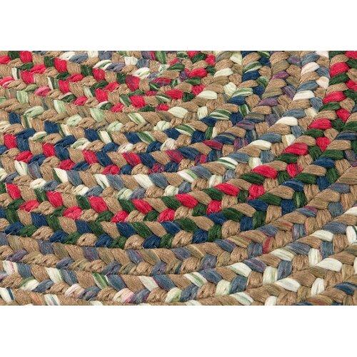 Colonial Mills Chestnut Knoll Straw Beige Multi Rug