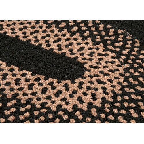 Colonial Mills Madison Jet Black Rug