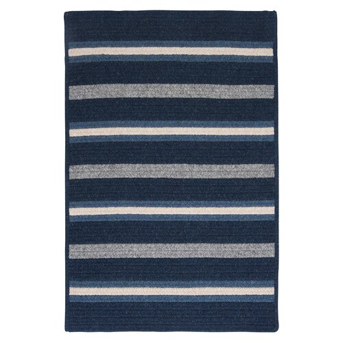 Colonial Mills Salisbury Blue Striped Rug