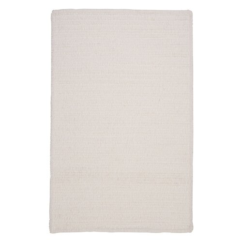 Colonial Mills Simple Chenille Cloud White Indoor/Outdoor Rug