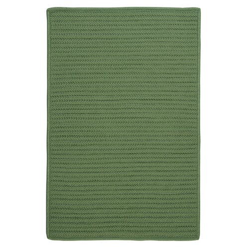 Colonial Mills Simply Home Solid Moss Green Indoor/Outdoor Rug