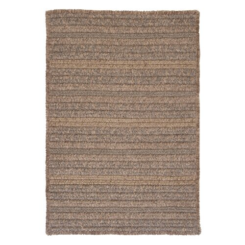 Texture Woven Rich Brown Rug