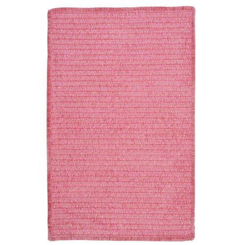 Colonial Mills Solid Chenille Pink Kids Rug