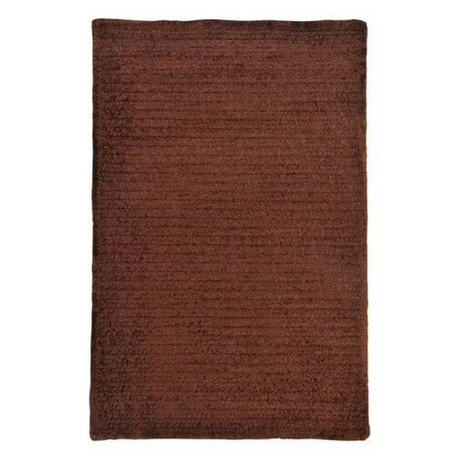 Colonial Mills Solid Chenille Chocolate Kids Rug